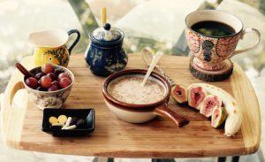 Attrezzatura per colazione bed and breakfast