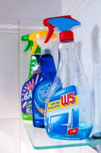 Prodotti per la pulizia in hotel