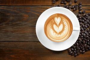 latte art per bed and breakfast