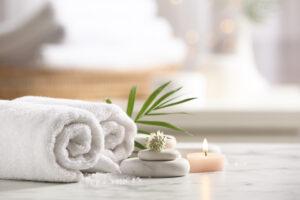 asciugamani per hotel di lusso
