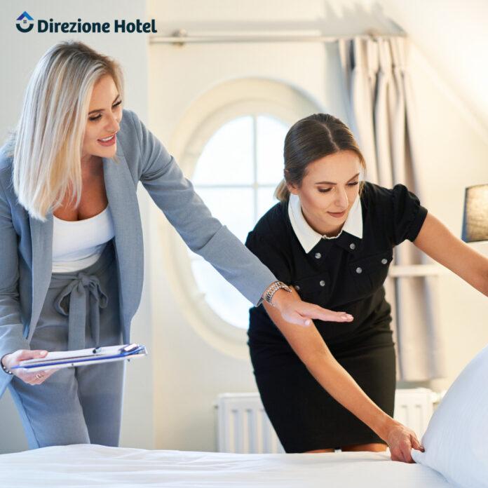 Trucchi per la pulizia di una camera d'hotel in breve tempo